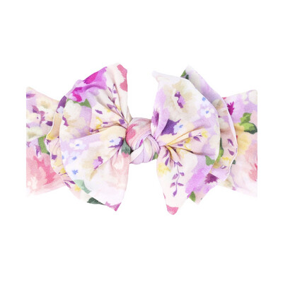 Baby Bling Floral Bow