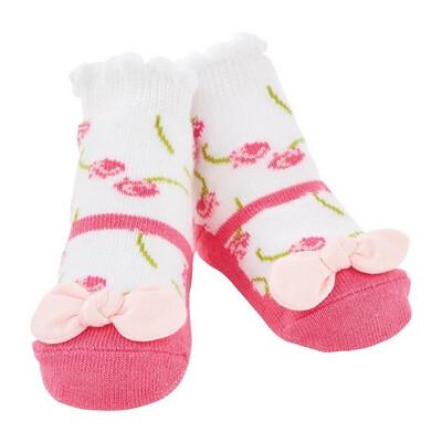 Mudpie Petite Rose Sock