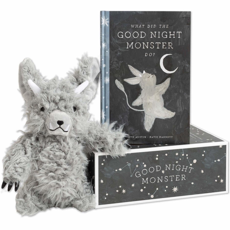 Goodnight Monster Stuffed Animal & Story Book