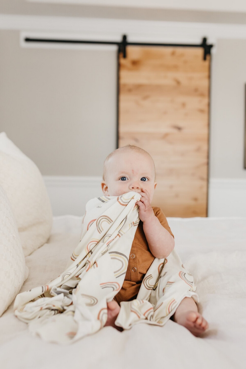 Copper Pearl Swaddle Blanket