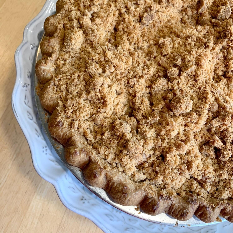 Pie / apple Dutch crumb