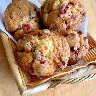 Muffins / 4 cranberry