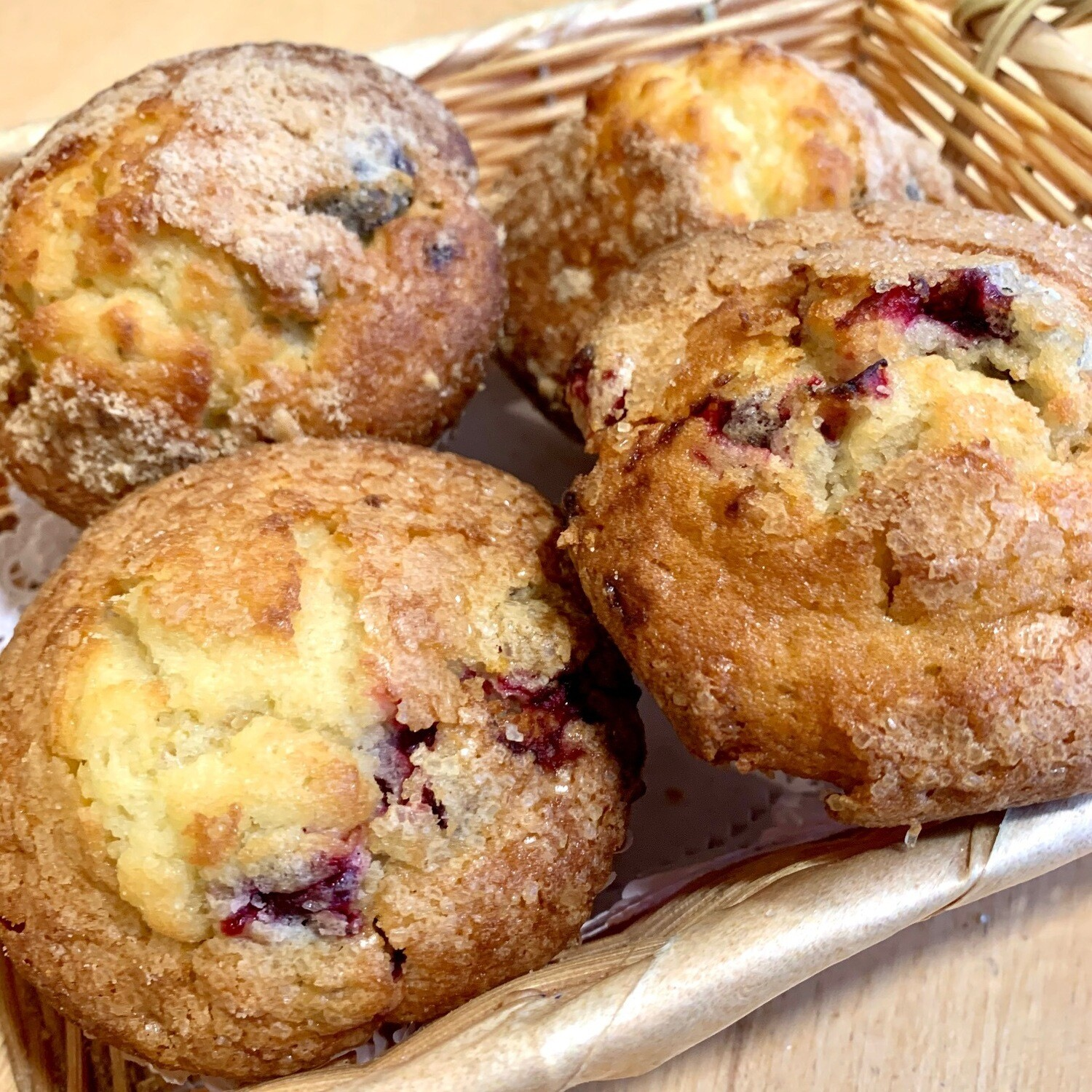 Muffins / 4 assorted