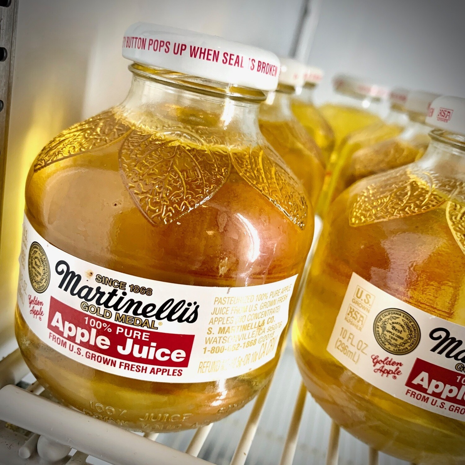 Martinelli's Gold Medal apple juice