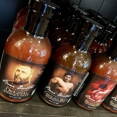 Bone Doctors barbecue sauces