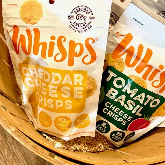Whisps gluten-free cheese crisps