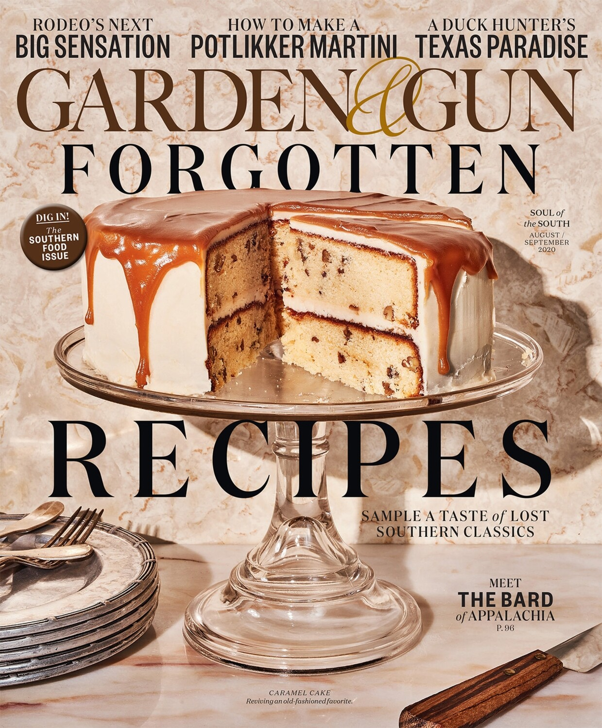 1 Garden & Gun / food issue (with Red Truck Bakery's story!)