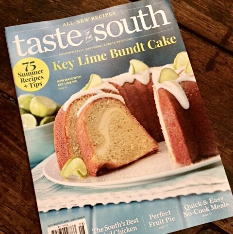 Taste of the South magazine