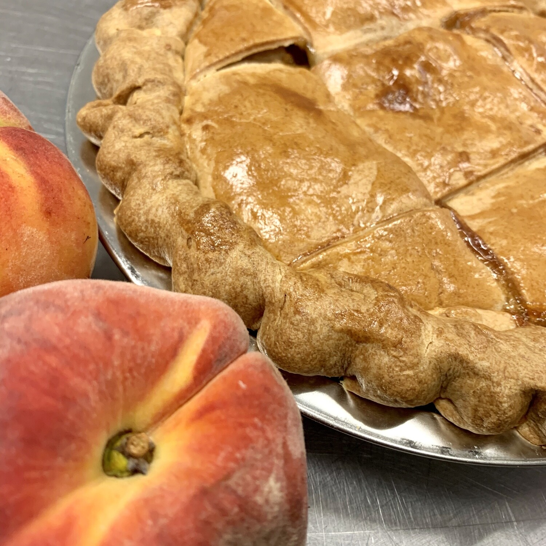 Pie / peach two-crust
