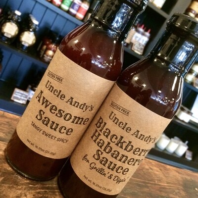 Uncle Andy's sauces (two kinds)