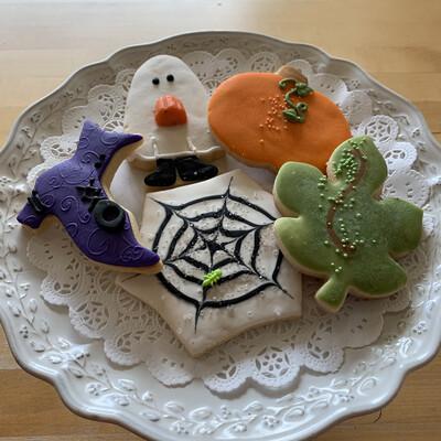 Cookies/ Fall box of 5