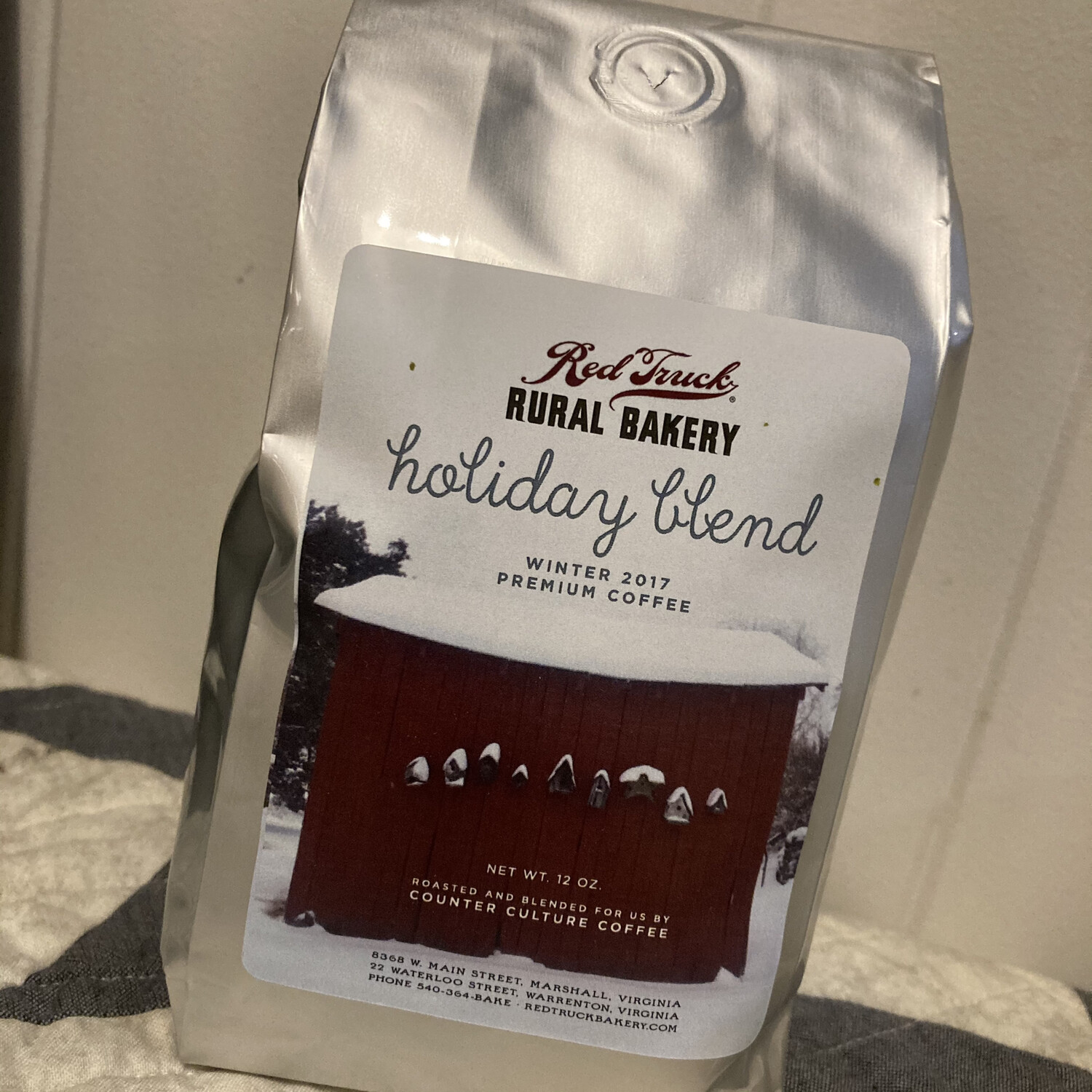 Coffee — Holiday Blend whole bean
