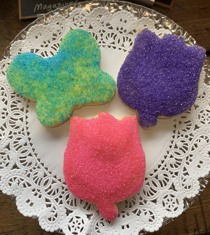 Cookies / seasonal sugar cookies pack of 3