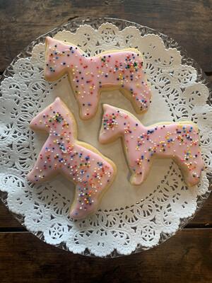 Cookies / Pink Horses Pack of 3