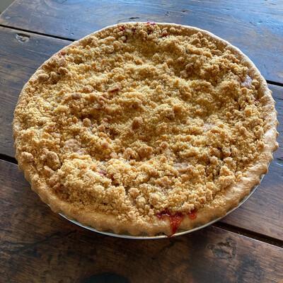 Pie / Dutch Strawberry Rhubarb