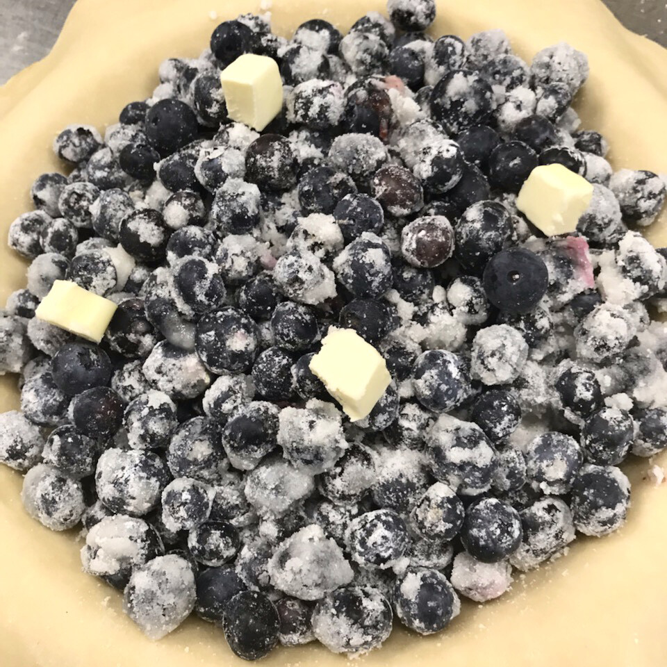 Pie / Blueberry Two Crust