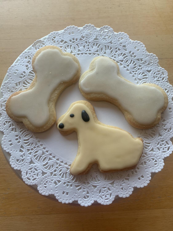 Cookies / seasonal sugar cookies 3-pack