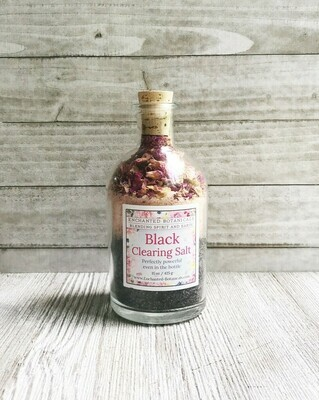 Enchanted Botanicals Black Clearing Salt