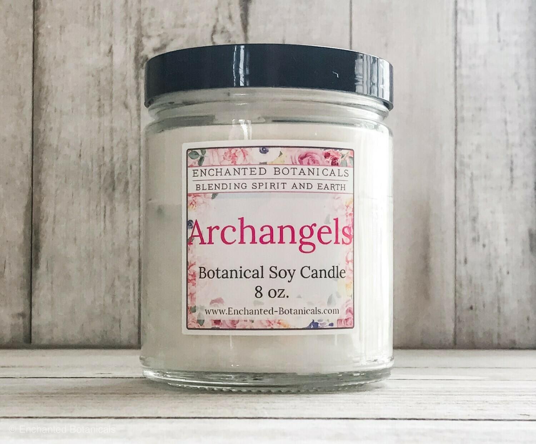 enchanted Botanicals Soy Candle
