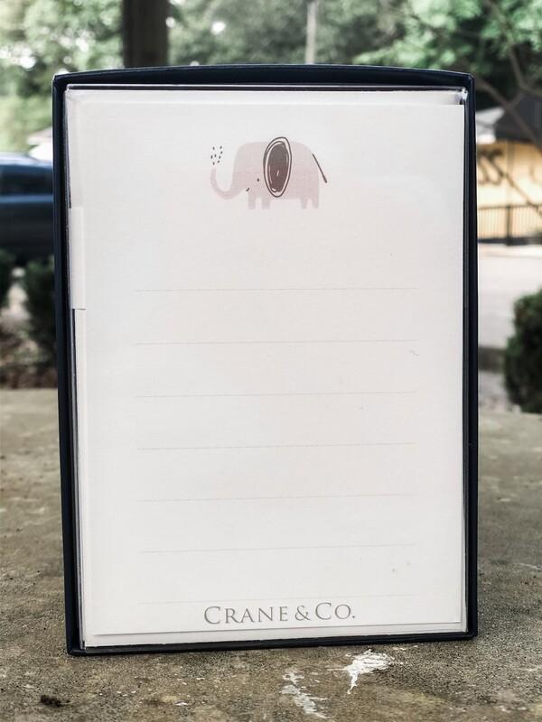 Crane Elephant Cards 10pk