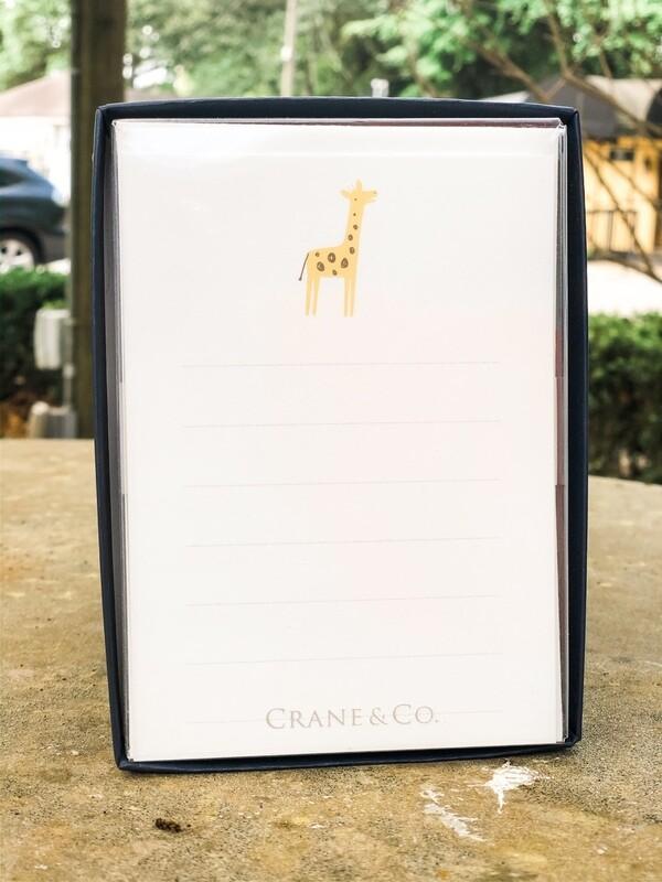 Crane Giraffe Cards 10pk