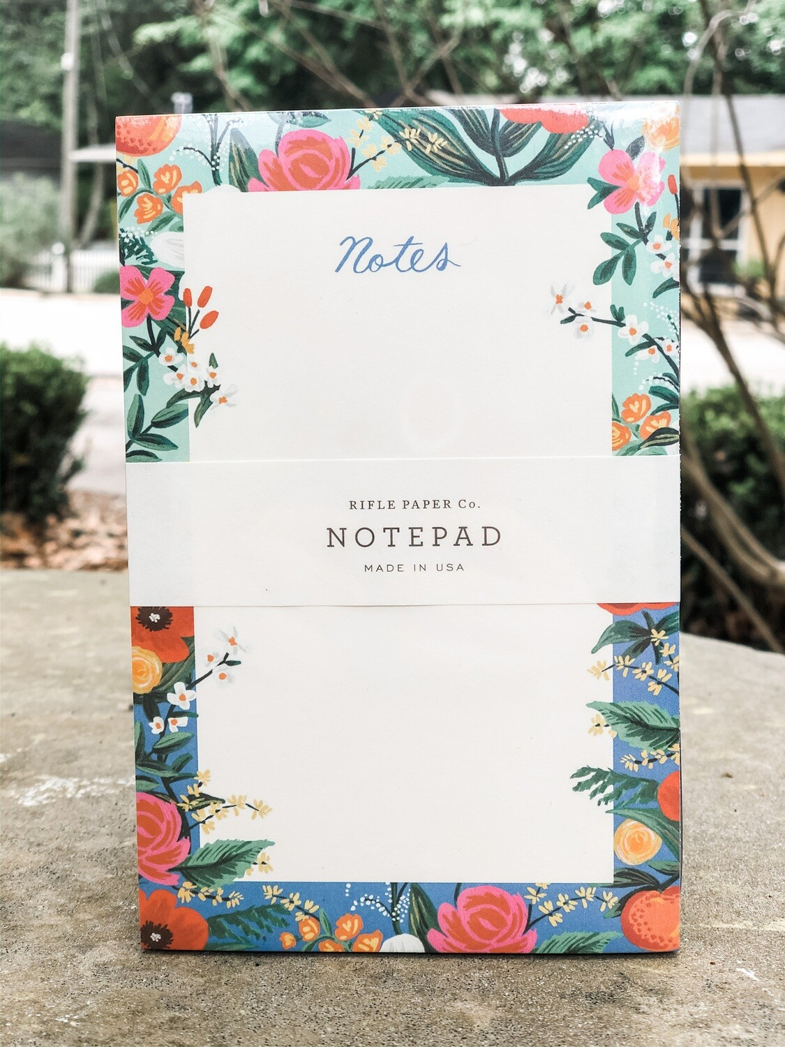 "Rifle paper Co. Note Pad 4.25"" x 6.5"""