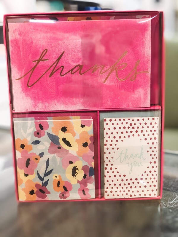Roobee Thanks Notes 15pk (5 Of Each)