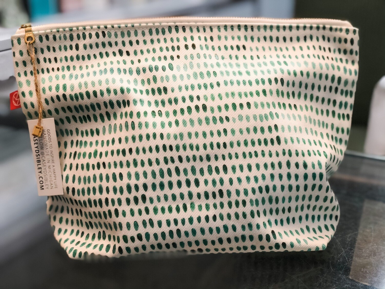 Casey D Sibley Handmade Makeup Bag