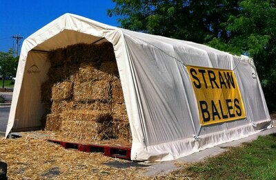 Straw Bale Large