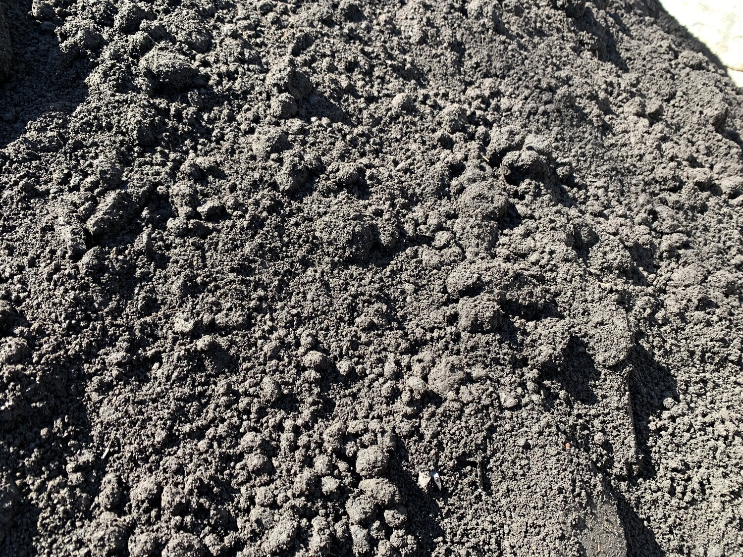BULK - Black Dirt Pulverized