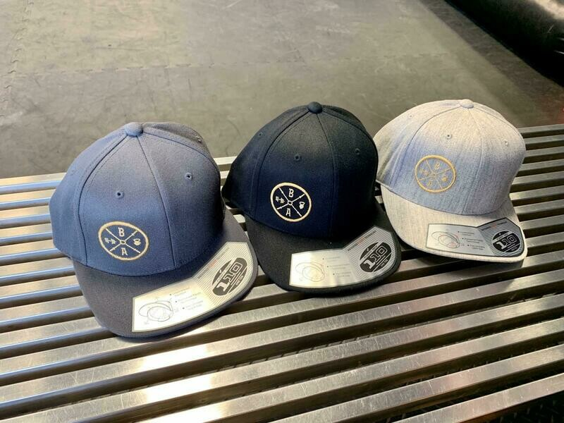 Steel Blue Grey BA Hat