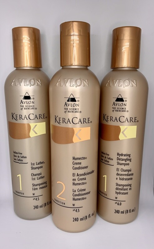 Kera Care hydrate and cleanse trio