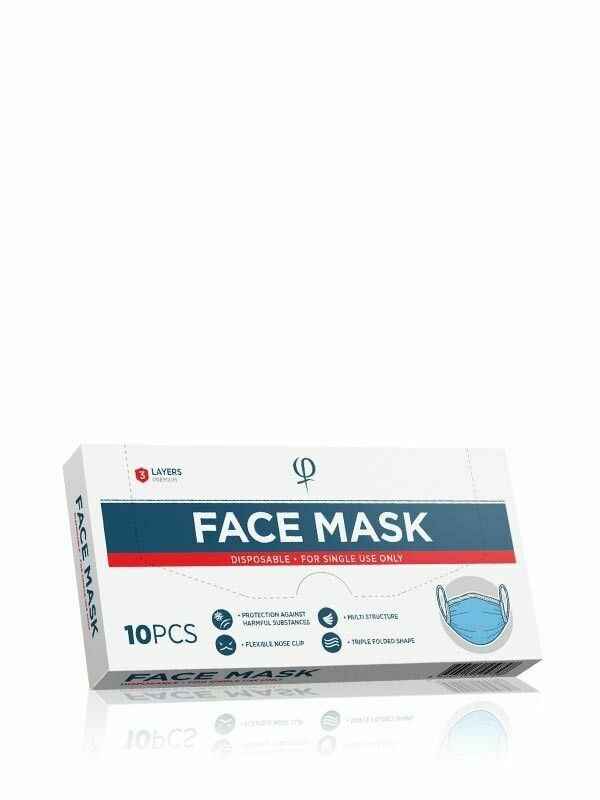Disposable Face Mask - 10pcs
