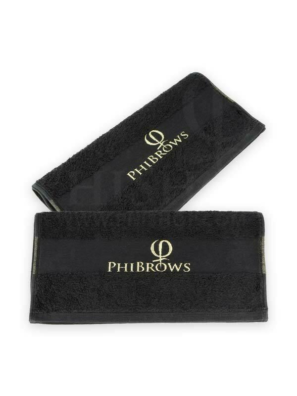 PhiBrows Towel black