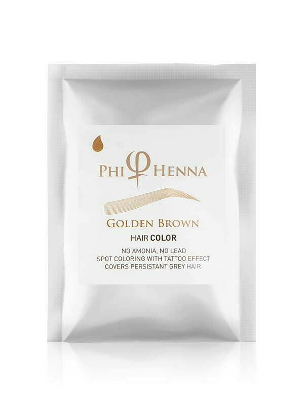 PhiHenna Golden Brown