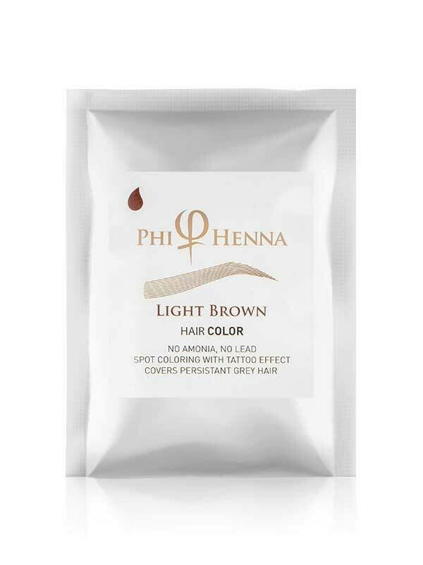 PhiHenna Light Brown