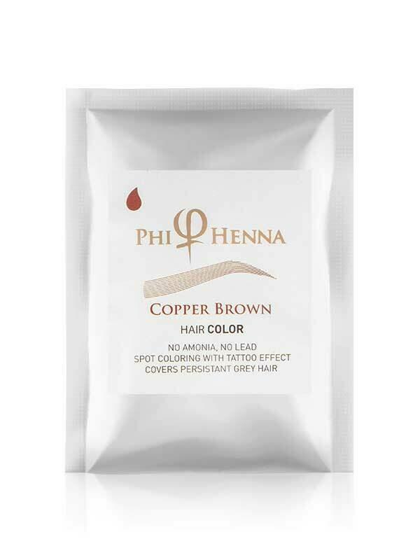 PhiHenna Copper Brown