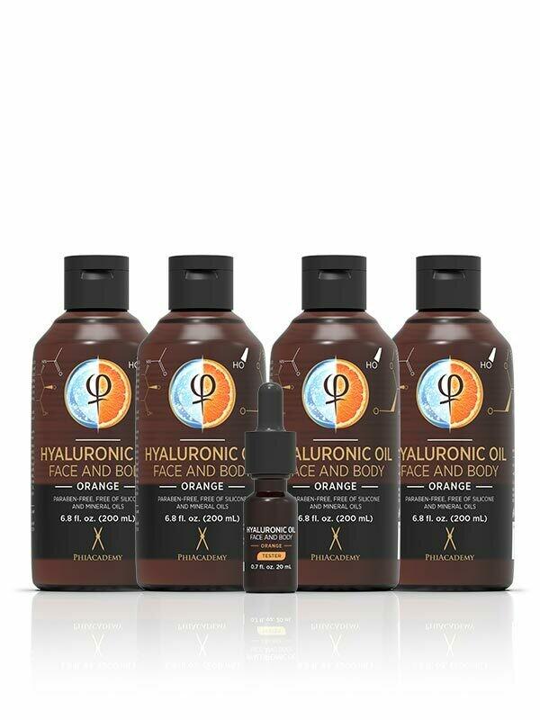 Hyaluronic Oil - Orange 200ml