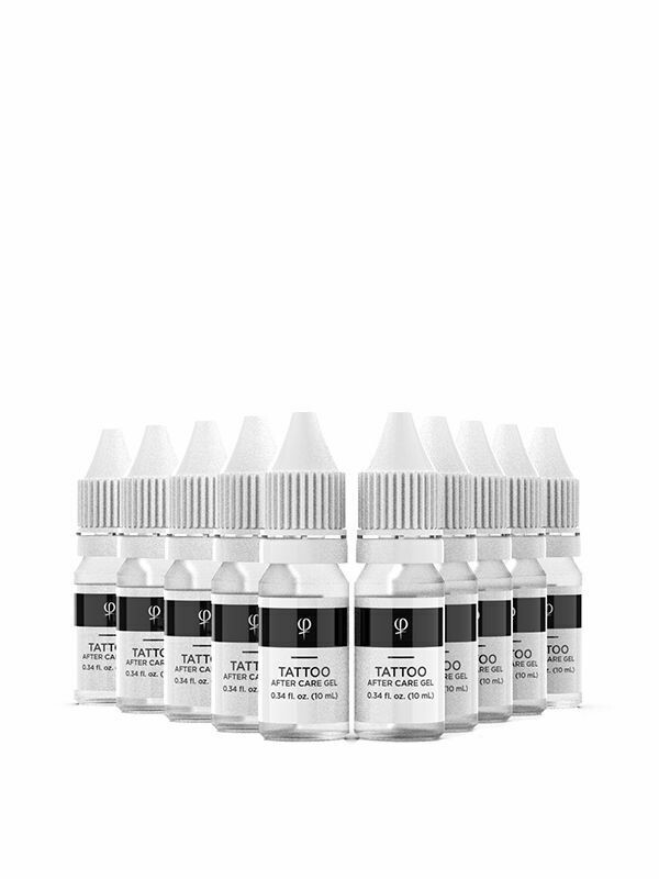 PHI TATTOO AFTER CARE GEL 10ML - 10PCS