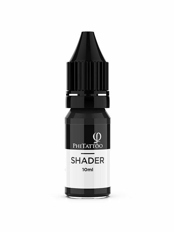 PHI TATTOO BLACK SHADER 10ML