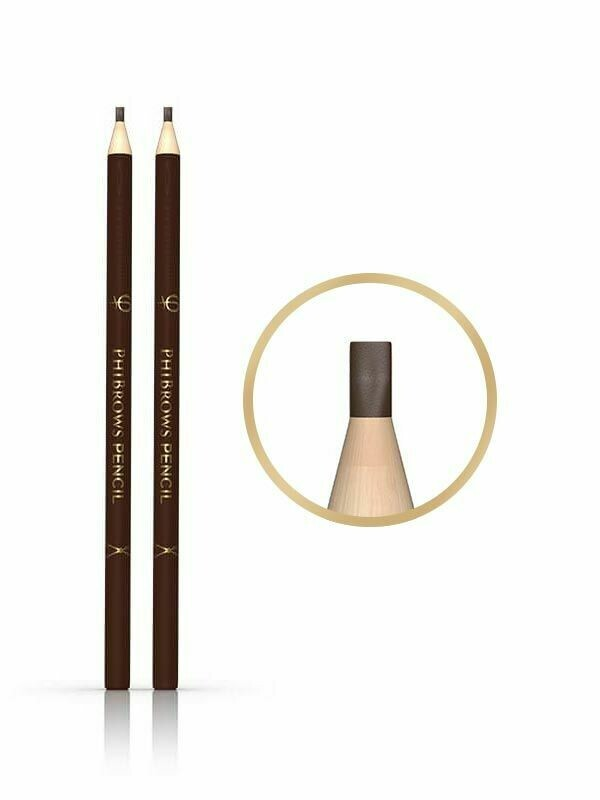 PHIBROWS DRAWING PENCIL (2PCS) - FLAT