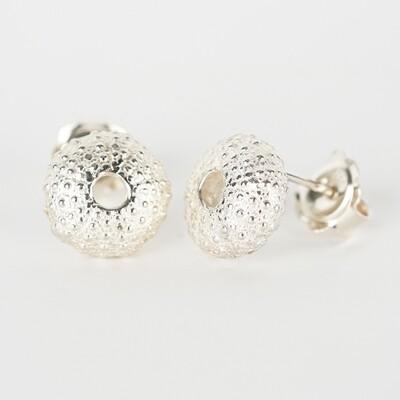 Earrings Stud Sea Urchin
