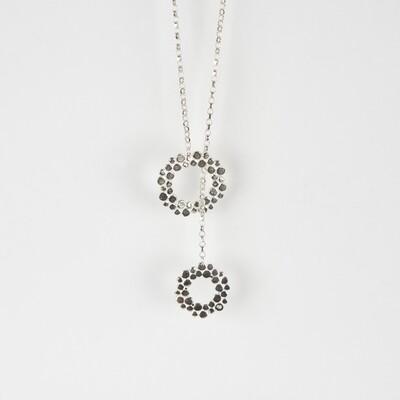 Necklace Long Pebble