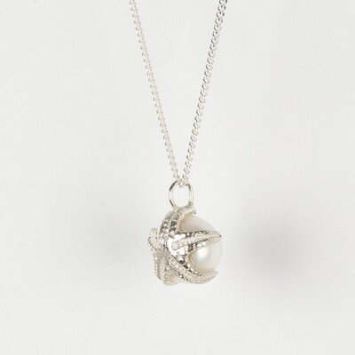 Necklace Starfish and Pearl