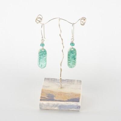 Earrings Drop Turquoise