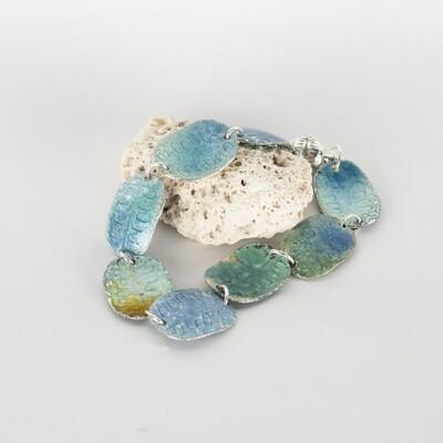 Bracelet Magnetic Blue Green