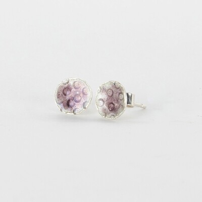 Earrings Stud Tiny Pink