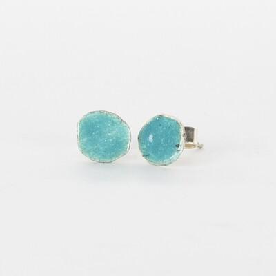Earrings Stud Tiny Turquoise