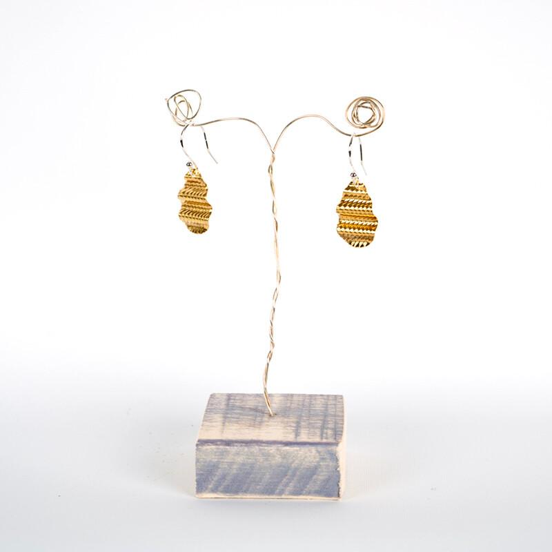 Pebble Earrings by Emma Mogridge