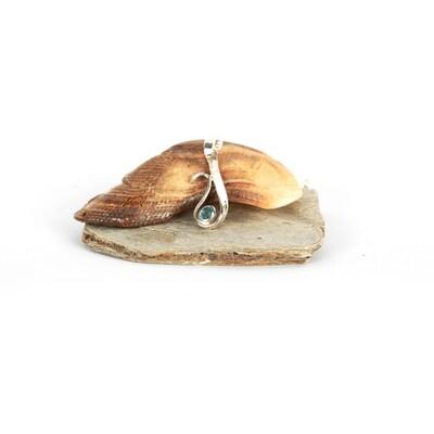 Calm Seas Gem-set pendant
